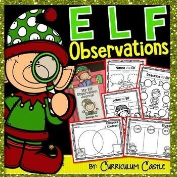 Classroom Elf Activities & Printables!