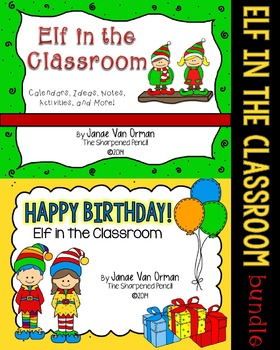 Elf in the Classroom {Bundle}