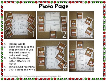 'Elf'-ing Around The Room!  **Seasonal Read the Room Activity Pack**