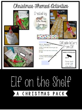 Elf on a Shelf Pack - Editable