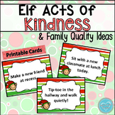 Elf on the Shelf: Acts of Kindness