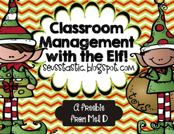 Classroom Management with the Elf (FREEBIE)