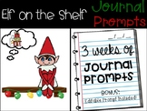Elf on the Shelf Journal Prompts - PAPERLESS / NO PREP