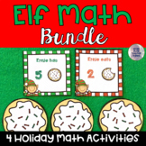 Elf- Themed Math Activities: Bundle Pack!