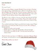 Elf on the Shelf Santa Letter and Elf Letter - 3rd Grade
