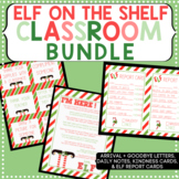 Elf on the Shelf Welcome Letter and Daily Cards Bundle