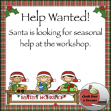 Elf-pplication to work for Santa!