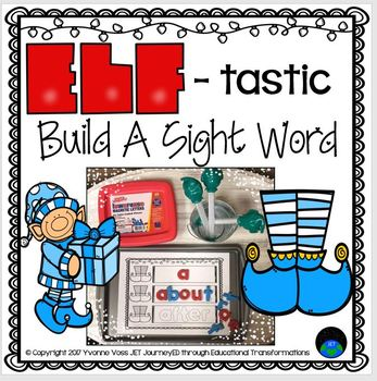 Elf-tastic Build A Sight Word Station