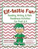 Christmas Reading, Writing, & Math Activities:  Elf-tastic