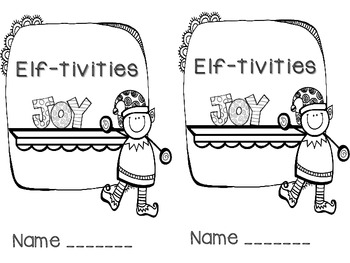 Elf-tivities {A Journal to Record Elf Activity}