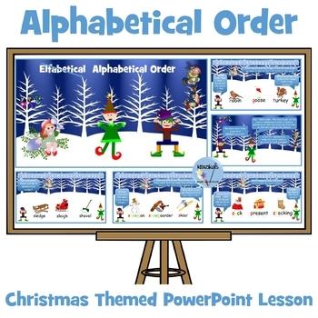 Elfabetical Order ( oops sorry - Alphabetical Order!) Powe