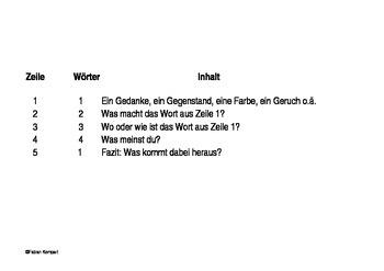 Elfchen - an eleven word poem