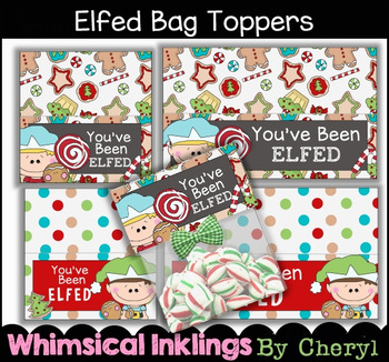 Elfed Bag Toppers~2 Sizes