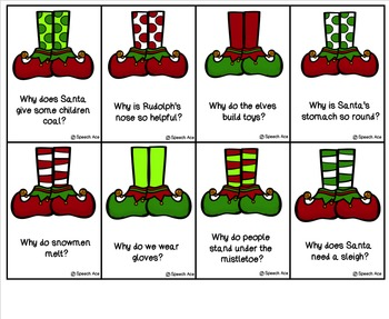 Elfin' Christmas: WH Questions