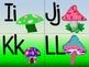 Elfin Toadstool Alphabet (Word Wall Tags)