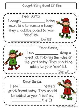 Elf Activities for the Classroom