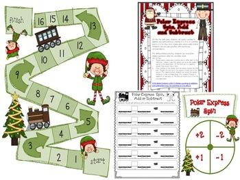 'Elf'tastic Math Games for December
