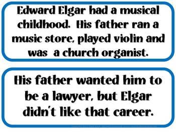 Elgar Composer of the Month (June) Bulletin Board Kit