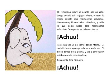 Eli - La Elefantita Saludable