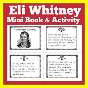 Eli Whitney   Cotton Gin