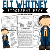 Eli Whitney Biography Pack (Famous Inventors)
