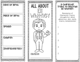 ELI WHITNEY - Inventor Research Project Graphic Organizer, Science