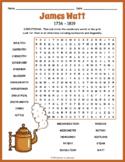 James Watt Word Search Puzzle