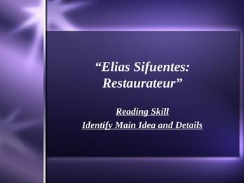 """""""Elias Sifuentes: Restaurateur"""" - Main Idea & Details - Open Court"""