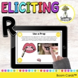 Eliciting R Articulation Boom Cards - R Sound Speech Therapy