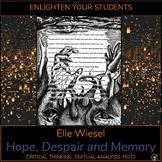 Elie Wiesel: Hope, Despair and Memory   HOLOCAUST MEMORIAL DAY
