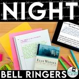 Elie Wiesel Night Common Core Bell Ringers