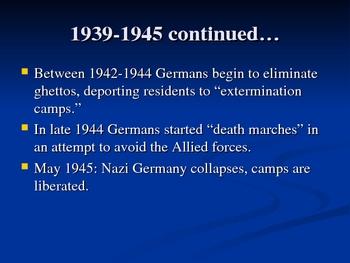 Elie Wiesel Night Historical Background
