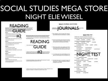 Night Book Bundle Holocaust World War II