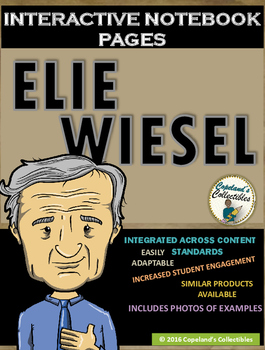 Elie Wiesel's Interactive Notebook Pages