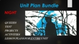 Night Unit Plan Bundle with Curriculum and Activities for Full Marking Period