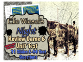 Elie Wiesel's Night: Review Game and Unit Test