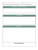 Eligibility determination worksheet-