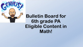 Eligible Content and Common Core Bulletin Board