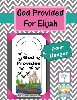 Elijah Door Hanger Printable Freebie