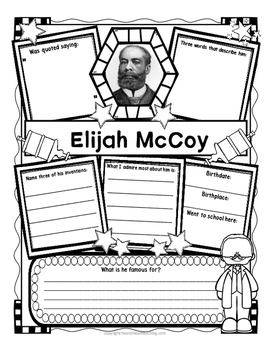 Elijah McCoy Organizers for Research Projects