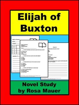 Elijah of Buxton Book Unit