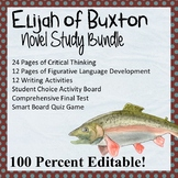 Elijah of Buxton Novel Study Bundle