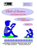 Elijah of Buxton by Christopher Paul Curtis: Novel study f
