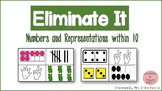 Eliminate It! Numbers and Representations within 10