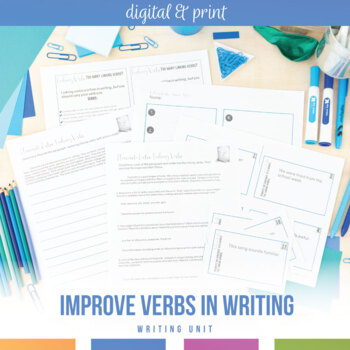 Eliminate Linking Verbs from Secondary Student Writing