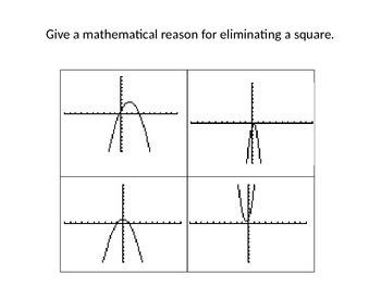 Eliminate this Parabola