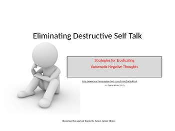 Eliminating Destructive Self Talk