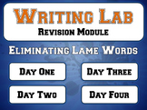 Eliminating Lame Words - Writing Lab Revision Module