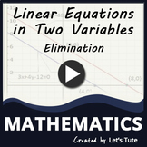 Elimination Method - Problem Solving | Linear Equation