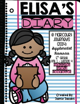 Elisa's Diary (Journeys 5th Gr. - Supplemental Materials)